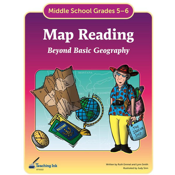 Map Reading (Gr. 5-6) - PDF DOWNLOAD