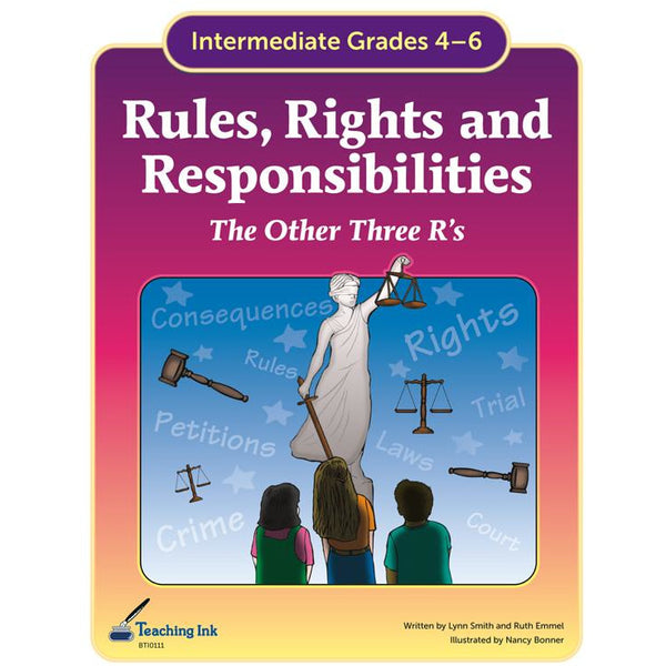 Rules, Rights and Responsibilities (Gr. 4-6) - PDF DOWNLOAD
