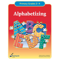 Alphabetizing (Gr. 2-4) - PDF DOWNLOAD