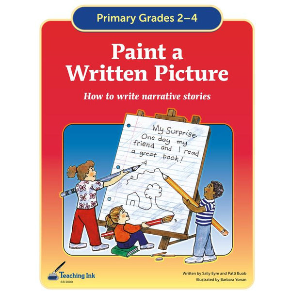 Paint a Written Picture (Gr. 2-4) - PDF DOWNLOAD