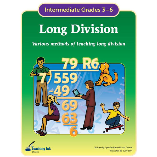 Long Division (Gr. 3-6) - PDF DOWNLOAD