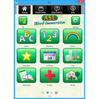 ASL Word Immersion (Software Download)
