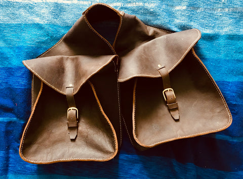 Custom made saddle bags
