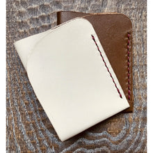 Load image into Gallery viewer, Minimalist  Calf Leather Wallet / Card Holder - Handmade
