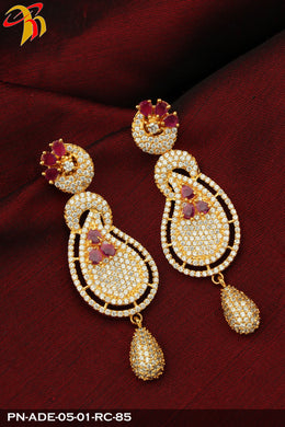 CZ Earrings - Prasad Novelties