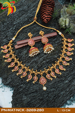 Matt Necklace - Prasad Novelties