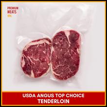 Load image into Gallery viewer, USDA Top Choice Angus Tenderloin (3/4 in. thick)