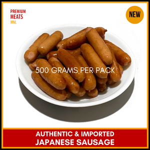 Japanese Sausage · Authentic & Imported