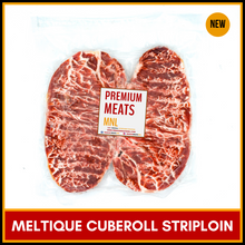 Load image into Gallery viewer, Meltique Beef Striploin (2pcs/pack, ~460g)
