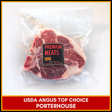 Load image into Gallery viewer, USDA Top Choice Angus Porterhouse (3/4 in. thick)