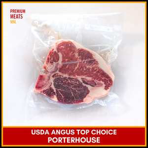 USDA Top Choice Angus Porterhouse (3/4 in. thick)