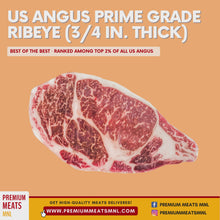 Load and play video in Gallery viewer, USDA Angus Prime Grade Ribeye (3/4 in. thick)