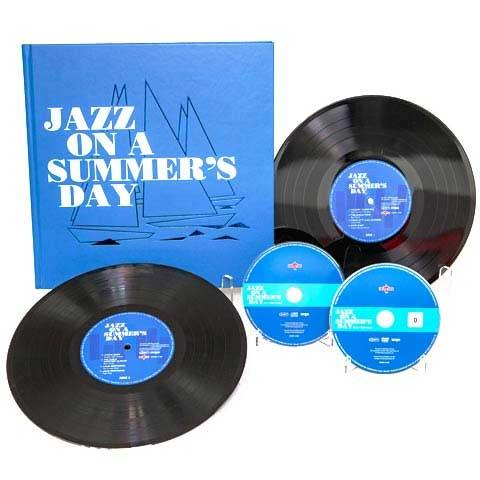 "Various - JAZZ ON A SUMMER'S DAY - 2X10""+DVD+CD BOX SET detail"
