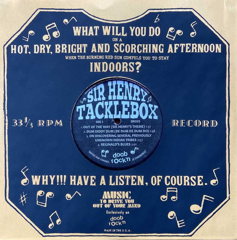 SIR HENRY TACKLEBOX - s/t - 10""