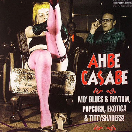 Various - Exotic Blues and Rhythm Vol.2 - AHBE CASABE - 10""