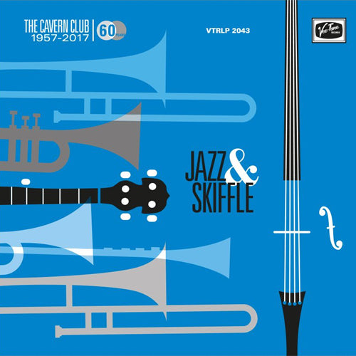 "Various - THE CAVERN CLUB: JAZZ & SKIFFLE - 10"" (blue vinyl)"
