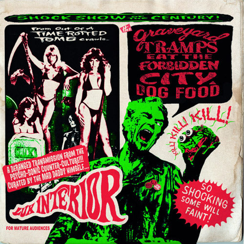 Various - THE GRAVEYARD TRAMPS EAT THE FORBIDDEN CITY DOG FOOD - 2x10""