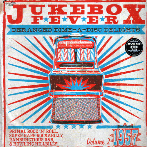 "Various - Jukebox Fever Vol.2 / 1957 - 10"" + CD"