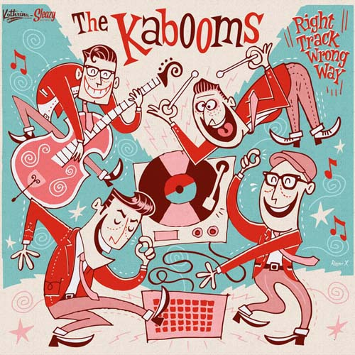 KABOOMS - Right Track Wrong Way - 10inch