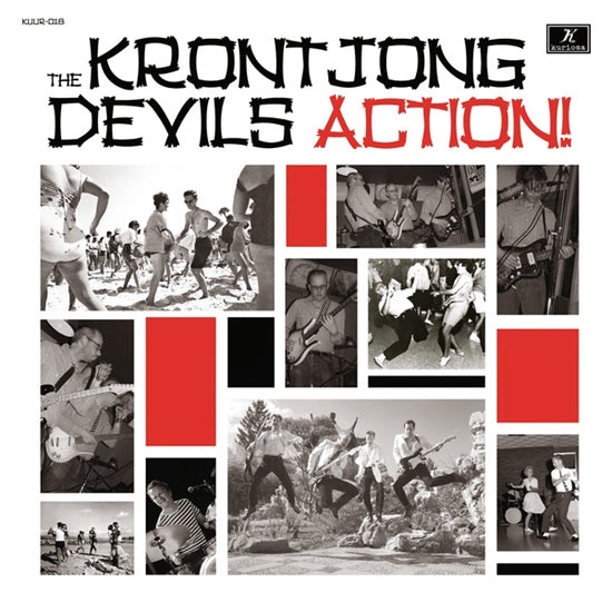 THE KRONTONG DEVILS - Action! - 10inch