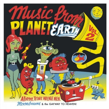 Various - Music From Planet Earth Volume 2 - 10""