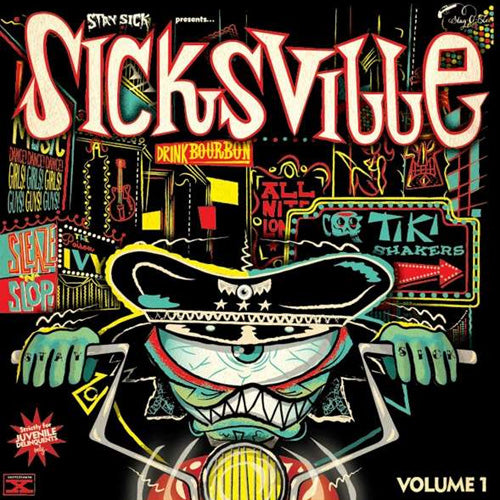 Various - Sicksville Volume 1 - 10""