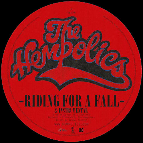 "HEMPOLICS - Riding For A Fall // Come As You Are - 12"" (RSD 2018)"