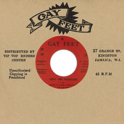 Johnny & the Attractions - Let's Get Together - 7""