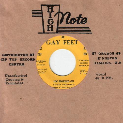 Johnny & the Attractions - I'm Moving On // Conquerors - Blabba Mouth - 7""