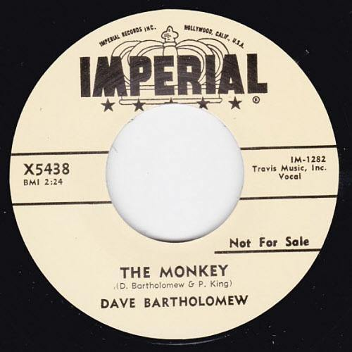 Dave Bartholomew - The Monkey // The Shufflin Fox - 7""