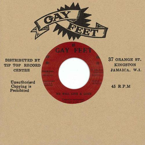 Carlton Manning - We Will Live & Love - 7""