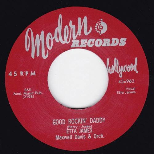 Etta James - Good Rockin Daddy // The Wallflower (Roll With Me Henry) - 7""