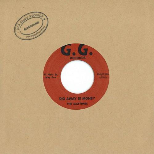 The Maytones - Dig Away Di Money - 7""