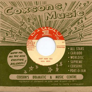 Soul Bros - East Man Ska - 7""