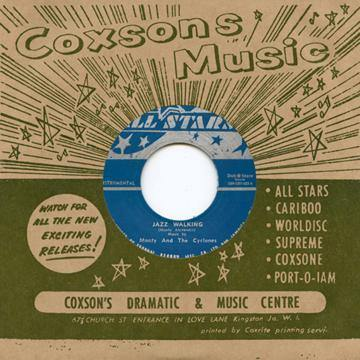 Monty & the Cyclones - Jazz Walking // Don Drummond - Just Cool - 7""