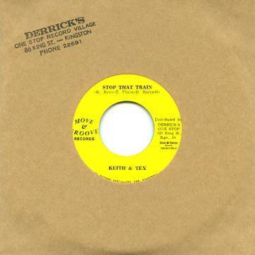 Keith & Tex - Stop That Train - 7""