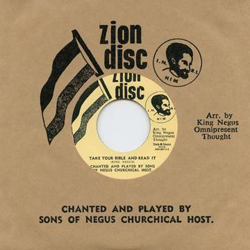 Sons Of Negus - Take Your Bible And Read It // Lion Of Judah - 7""
