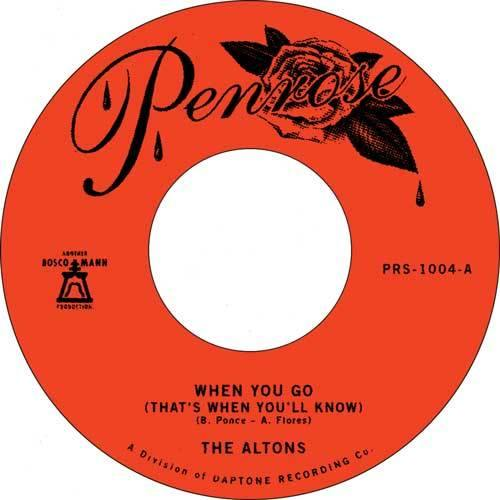 THE ALTONS - When You Go // Over and Over - 7inch