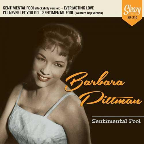 "BARBARA PITTMAN - Sentimental Fool - 4-track 7""EP"