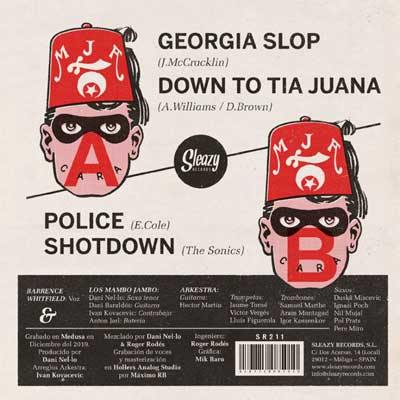 "BARRENCE WHITFIELD & LOS MAMBO JAMBO ARKESTRA - Georgia Slop - 7""EP"