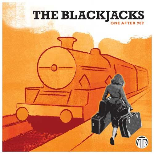 THE BLACKJACKS - One After 909 - 7inch 4-track EP