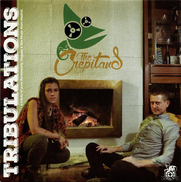 "Crepitans - Tribuilations - 7"" 4-track EP"