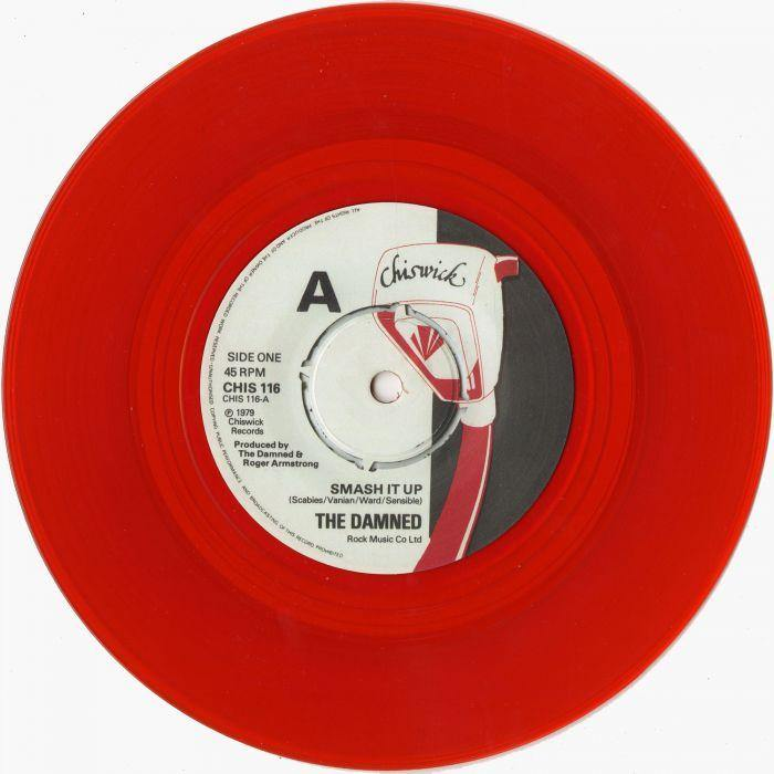 "The Damned - Smash It Up - 7"" Punkrock"