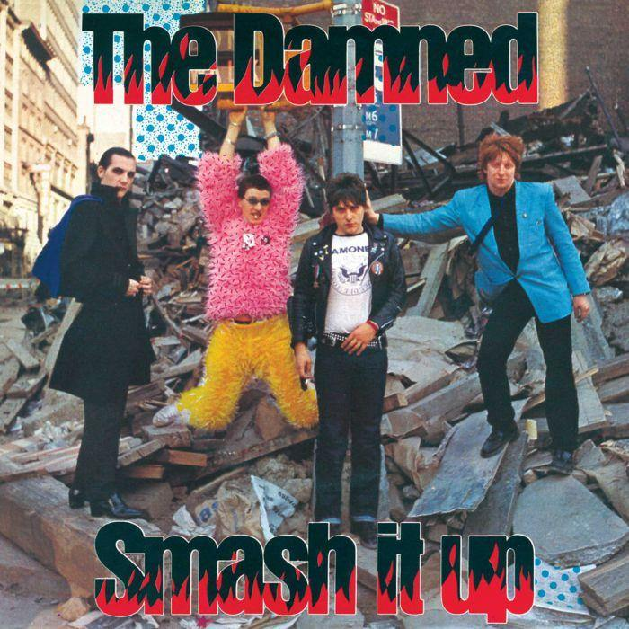"The Damned - Smash It Up - 7"" red vinyl"