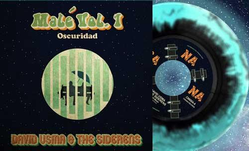 DAVID USMA & the SIDERENS - Malé Vol.1 Oscuridad - 7inch (diff. vinyl col. available)