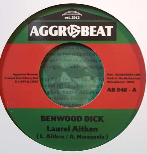 LAUREL AITKEN - Benwood Dick // Apollo 12 - 7inch