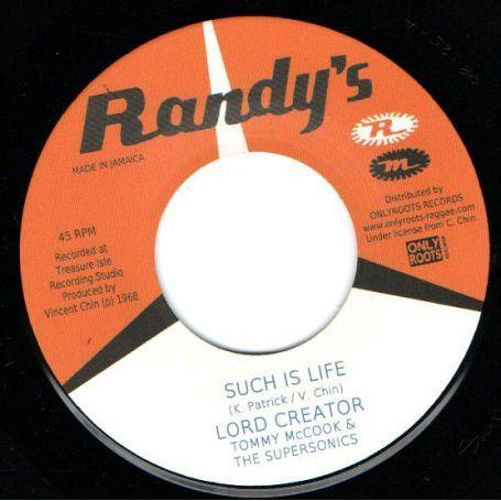 LORD CREATOR - Such Is Life // Come Down '68 - 7inch