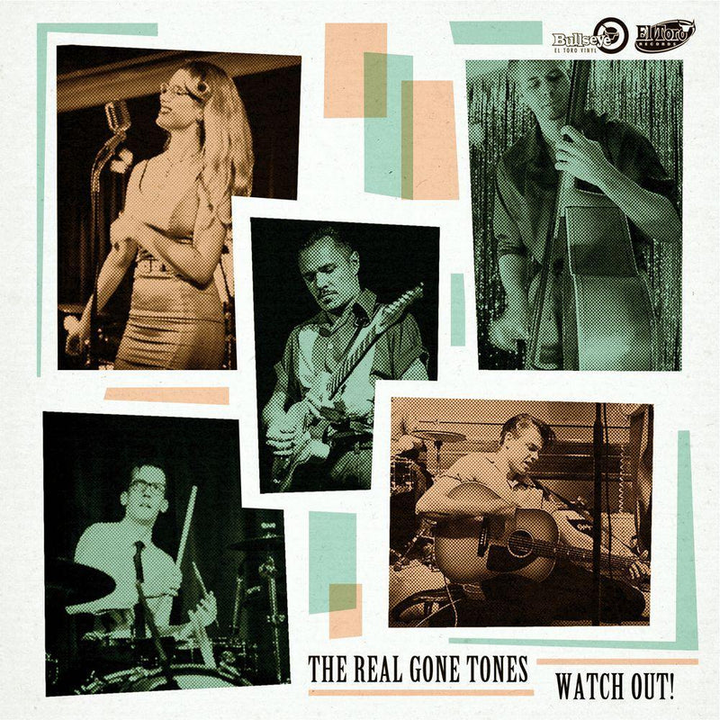 The Real Gone Tones - Watch Out! - 7inch EP