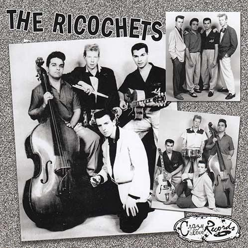 THE RICOCHETS - Migraine E.P. - 7inch inlay sheet