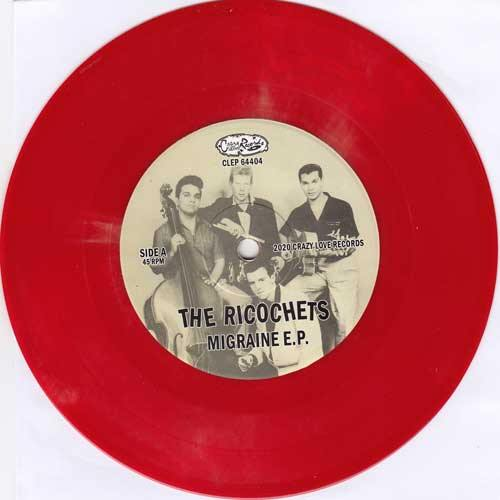 RICOCHETS - Migraine E.P. - 7inch (available in diff vinyl colors)
